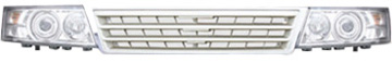 DG/2007-7B Combined head lamp and DG/2007-7B front grille