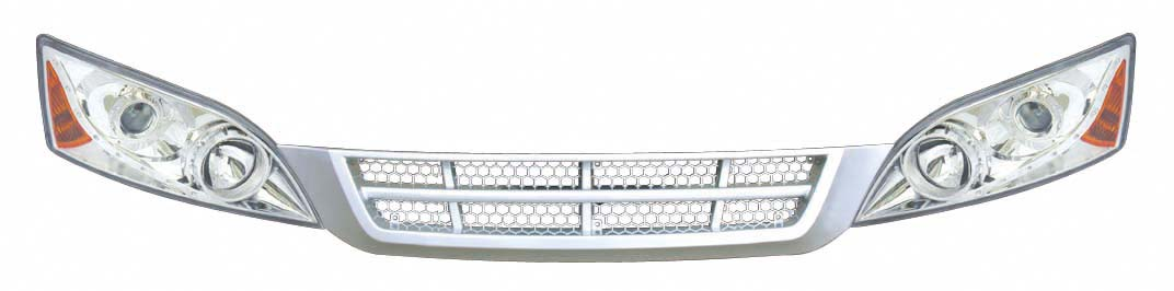 DG/2008-5 Combined head lamp and DG/2008-6 front grille
