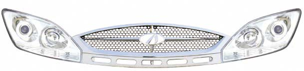 DG/2007-6 Combined head lamp,DG2007-9 or 07-10 front grille